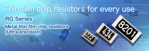 Thin film chip resisotrs for every use