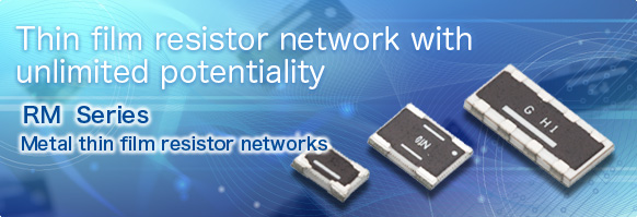 Thin film resistor network with unlimited potentiality