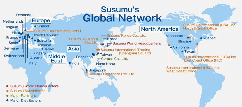 Susumu's Global Network