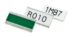 Current sensing surface mount resistors